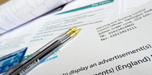 Advertising Consent Application
