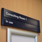 University of Liverpool-door sign
