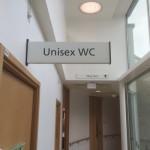 Harrogate Hospital- Unisex WC