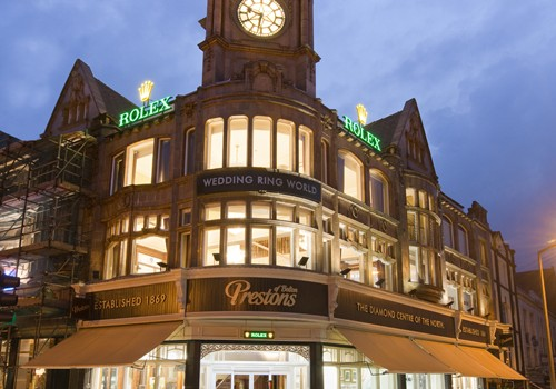 home blog luxury signage at prestons of bolton