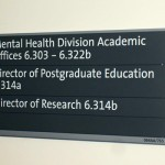 Internal Directional Sign