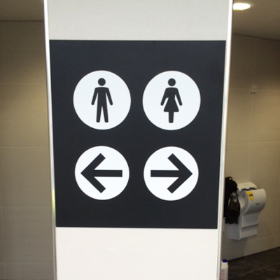 Toilet sign makers, Toilet signs, Manchester