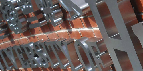 Individual Metal Letters Built Up Letters Individual Lettering Built Up Letters Sign