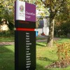 Farley Collection Colour Coded Wayfinding Monolith