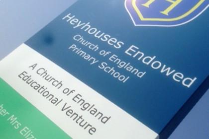 Heyhouses Primary School Monolith
