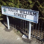 Street Nameplate sign with crest