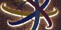 Macclesfield Learning Zone- Halo Illuminated Logo